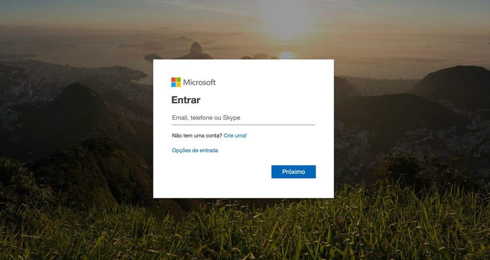Como acessar e entrar no email do Hotmail?