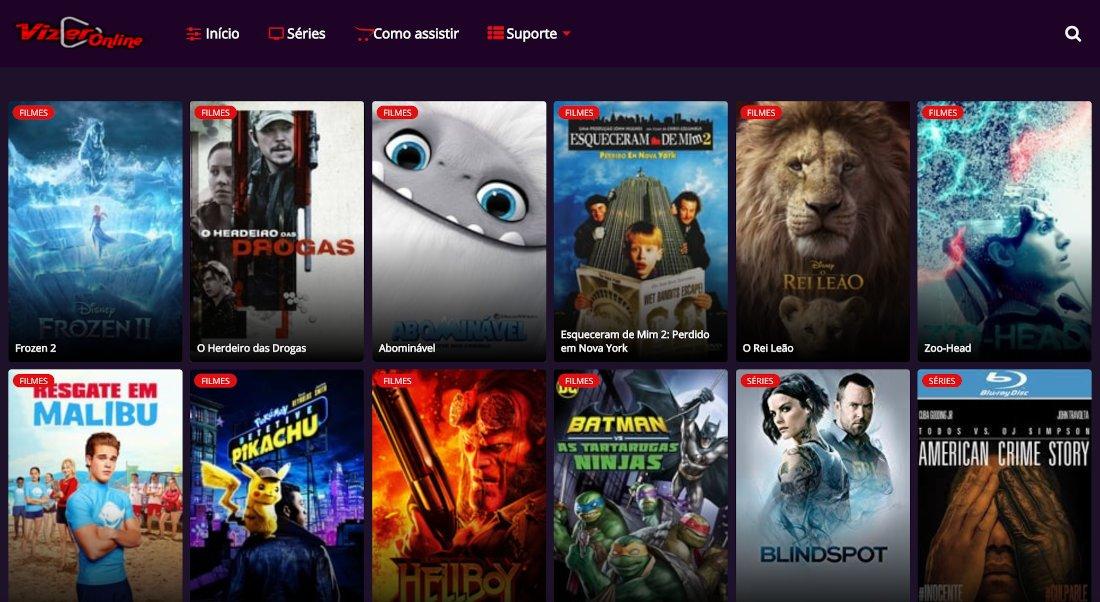 Vizer TV Online - Assista Filmes e Series Online Grátis