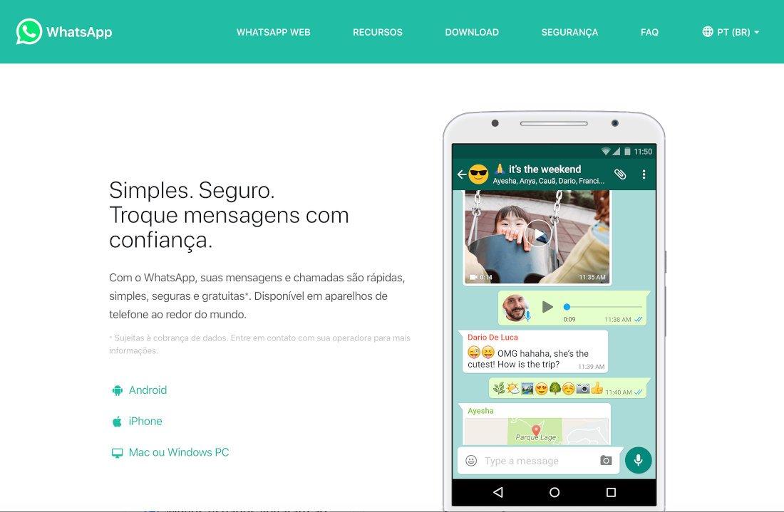 WhatsApp para Android e iOS: Como entrar e usar Celular e Web