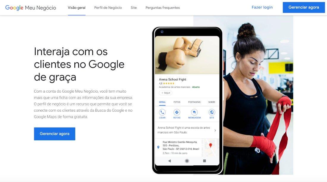 """""""Google My Business"""" ou """"Google Meu Negócio"""""""